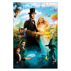 Oz the Great and Powerful. Размер: 20 х 30 см
